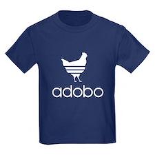 Adobo White Print T