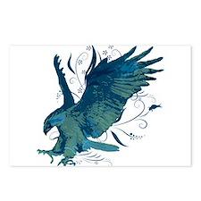 Riyah-Li Designs Eagle Postcards (Package of 8)