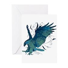 Riyah-Li Designs Eagle Greeting Cards (Pk of 10)