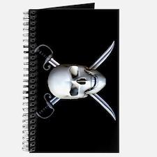 Pirate Skull Flag Journal