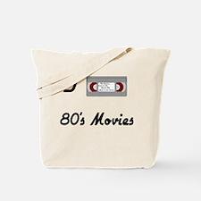 I love 80s Movies Tote Bag