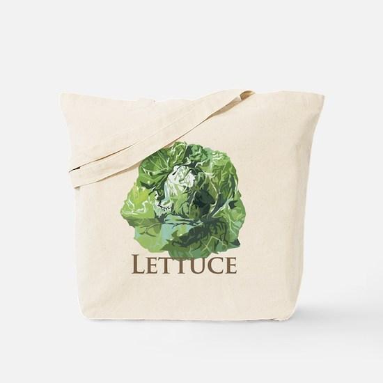 Leafy Lettuce Tote Bag
