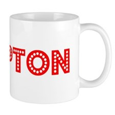 Retro Hampton (Red) Mug