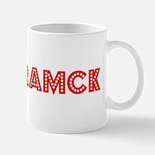 Retro Hamtramck (Red) Mug