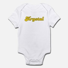 Retro Krystal (Gold) Infant Bodysuit