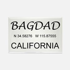 Bagdad, CA Rectangle Magnet