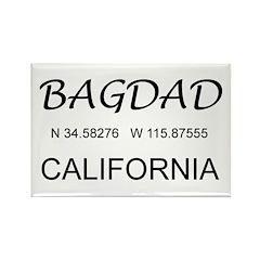 Bagdad, CA Rectangle Magnet (10 pack)