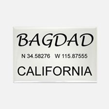 Bagdad, CA Rectangle Magnet (10 pack)