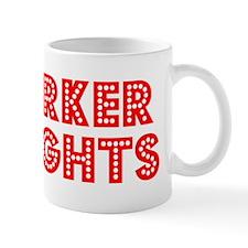 Retro Harker Heights (Red) Mug
