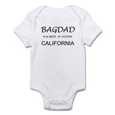 Bagdad, CA Infant Bodysuit