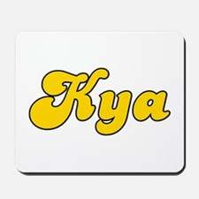 Retro Kya (Gold) Mousepad