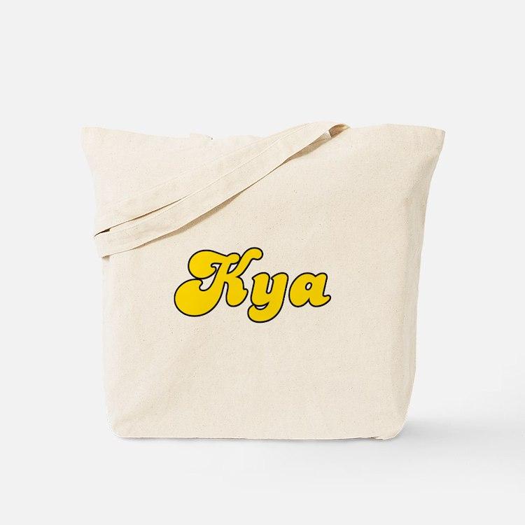 Retro Kya (Gold) Tote Bag