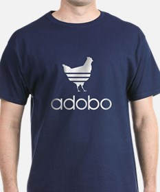 Adobo White Print T-Shirt