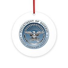 D.O.D. Emblem Ornament (Round)
