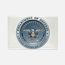 D.O.D. Emblem Rectangle Magnet (10 pack)