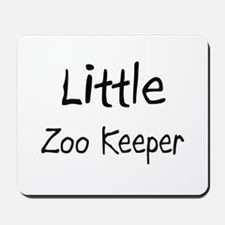 Little Zoo Keeper Mousepad
