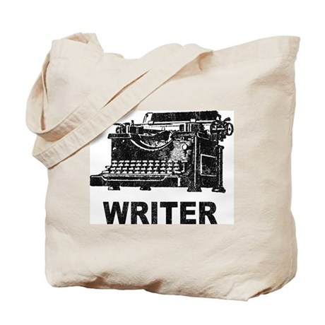 Vintage Writer Tote Bag