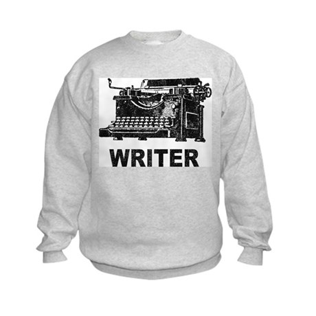 Vintage Writer Kids Sweatshirt