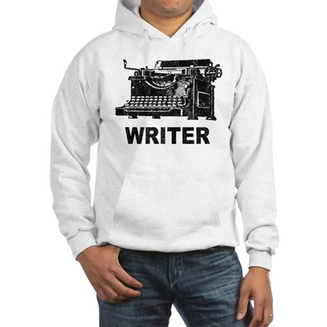 Vintage Writer Hooded Sweatshirt