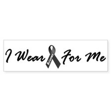 I Wear Black For Me 1 Bumper Bumper Sticker