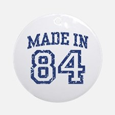 Made in 84 Ornament (Round)