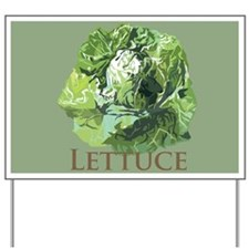 Leafy Lettuce Yard Sign