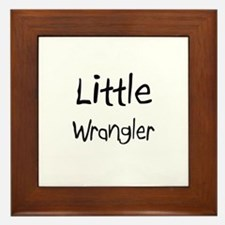Little Wrangler Framed Tile