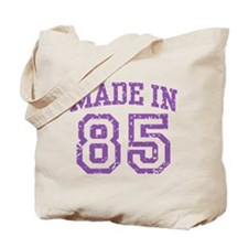 Made in 85 Tote Bag