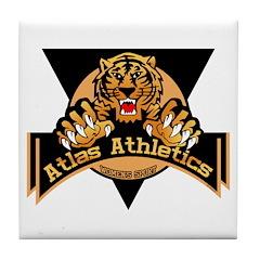Atlas Athletics Tile Coaster