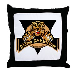 Atlas Athletics Throw Pillow