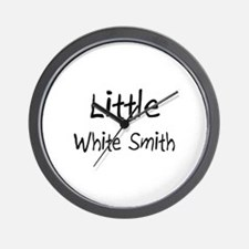 Little White Smith Wall Clock