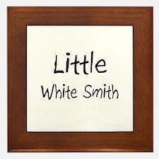 Little White Smith Framed Tile