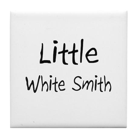 Little White Smith Tile Coaster