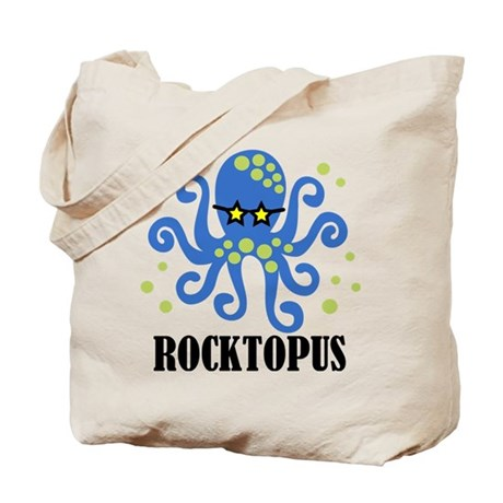 Rocktopus Boy Tote Bag