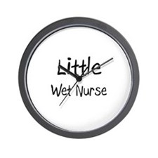 Little Wet Nurse Wall Clock