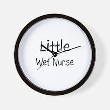 Little Wet Nurse Wall Clock