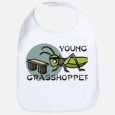 Young Grasshopper Bib
