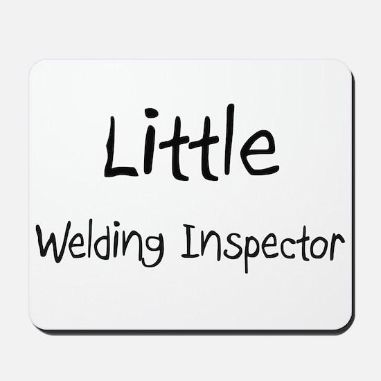 Little Welding Inspector Mousepad