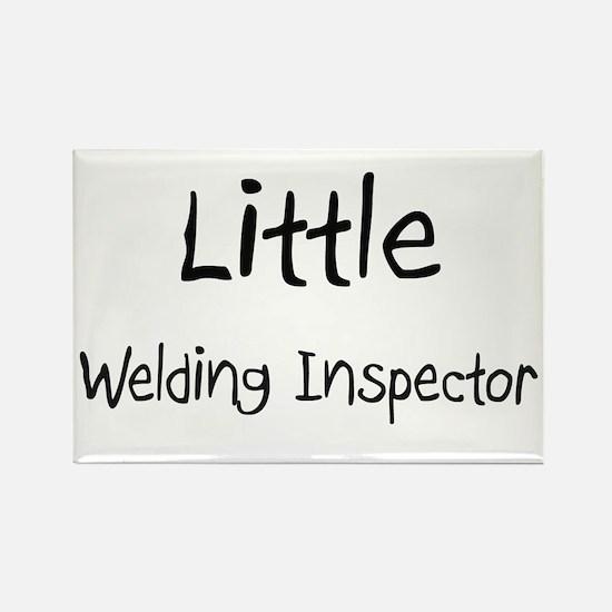 Little Welding Inspector Rectangle Magnet