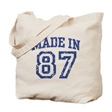 Made in 87 Tote Bag