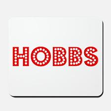 Retro Hobbs (Red) Mousepad