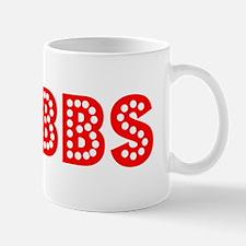 Retro Hobbs (Red) Mug