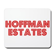 Retro Hoffman Esta.. (Red) Mousepad