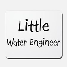 Little Water Engineer Mousepad