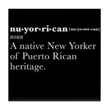 Nuyorican Definition Tile Coaster