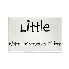 Little Water Conservation Officer Rectangle Magnet