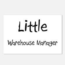 Little Warehouse Manager Postcards (Package of 8)