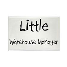Little Warehouse Manager Rectangle Magnet