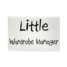 Little Wardrobe Manager Rectangle Magnet