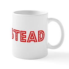 Retro Homestead (Red) Mug